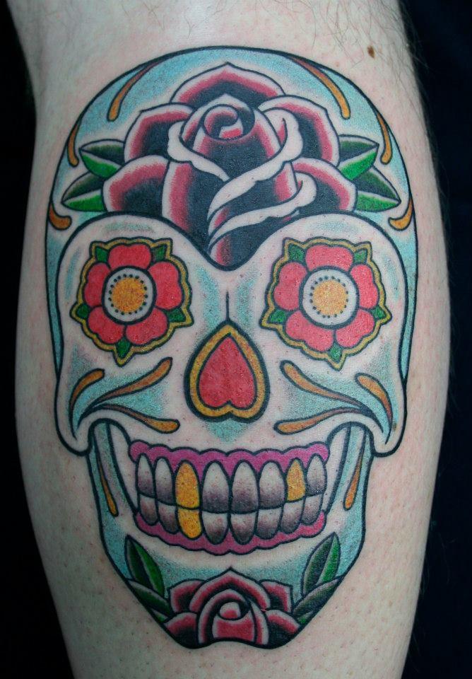 Sugar skull Tattoo Skull Tattoo Sydney.jpg