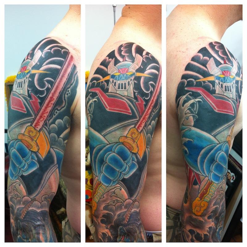 Cartoon Tattoos Rhys Gordon Sydney Japenese tattoos.JPG