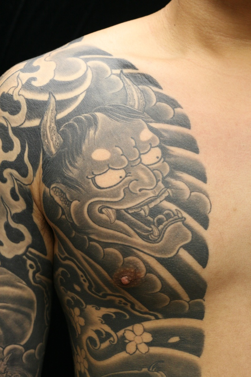 Hannya Tattoo Rhys Gordon Sydney Tattoo Studio.JPG