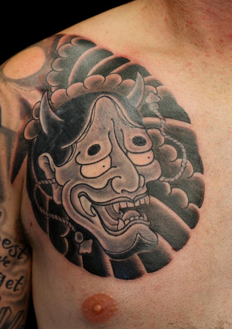 Hannya tattoo Japanese Tattoos Sydney Rhys Gordon.JPG