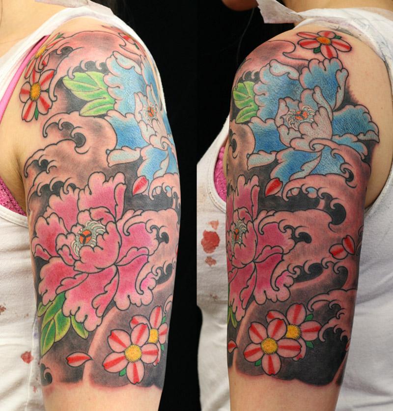 Peonie tattoo Flower Tattoo Sydney.jpg