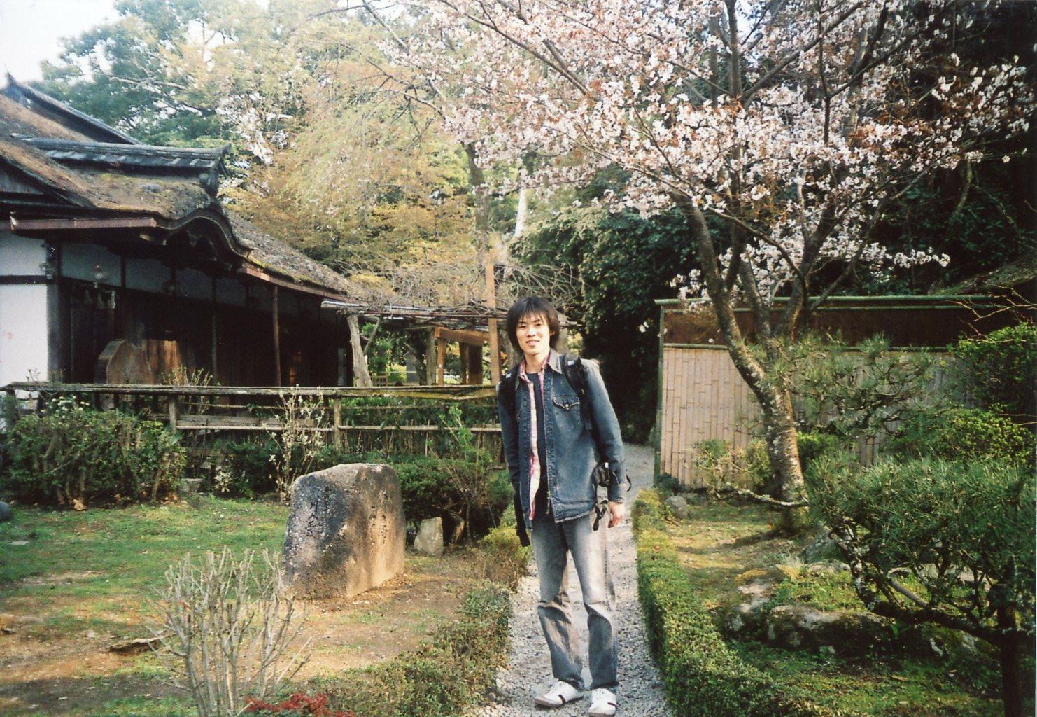 吉水神社にて At Yoshimizu Shrine, Yoshino, Nara, Japan