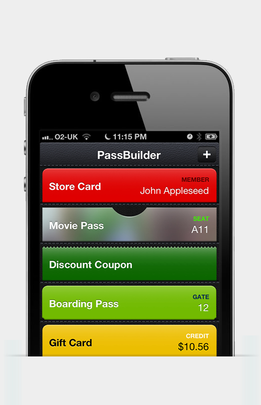 Passbuilder for Passbook   Worked with Apple's newly released iOS Passbook functionality to improve the pass creating process.