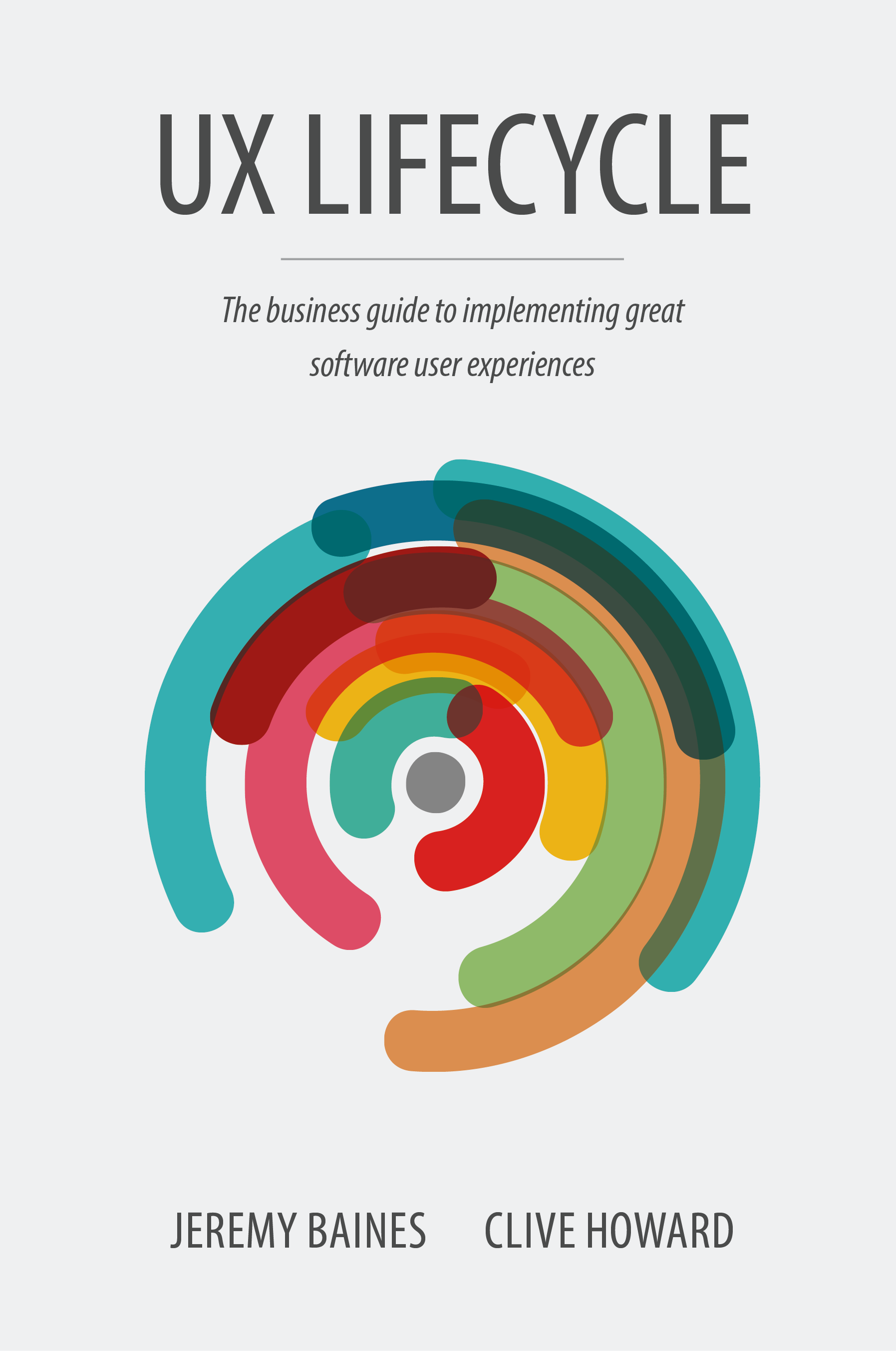 UX Lifecycle Book  Co Author of a business guide to implementing great software experinces