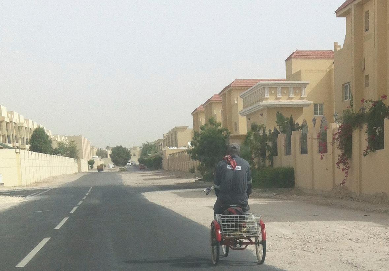 Cycling in Doha ...