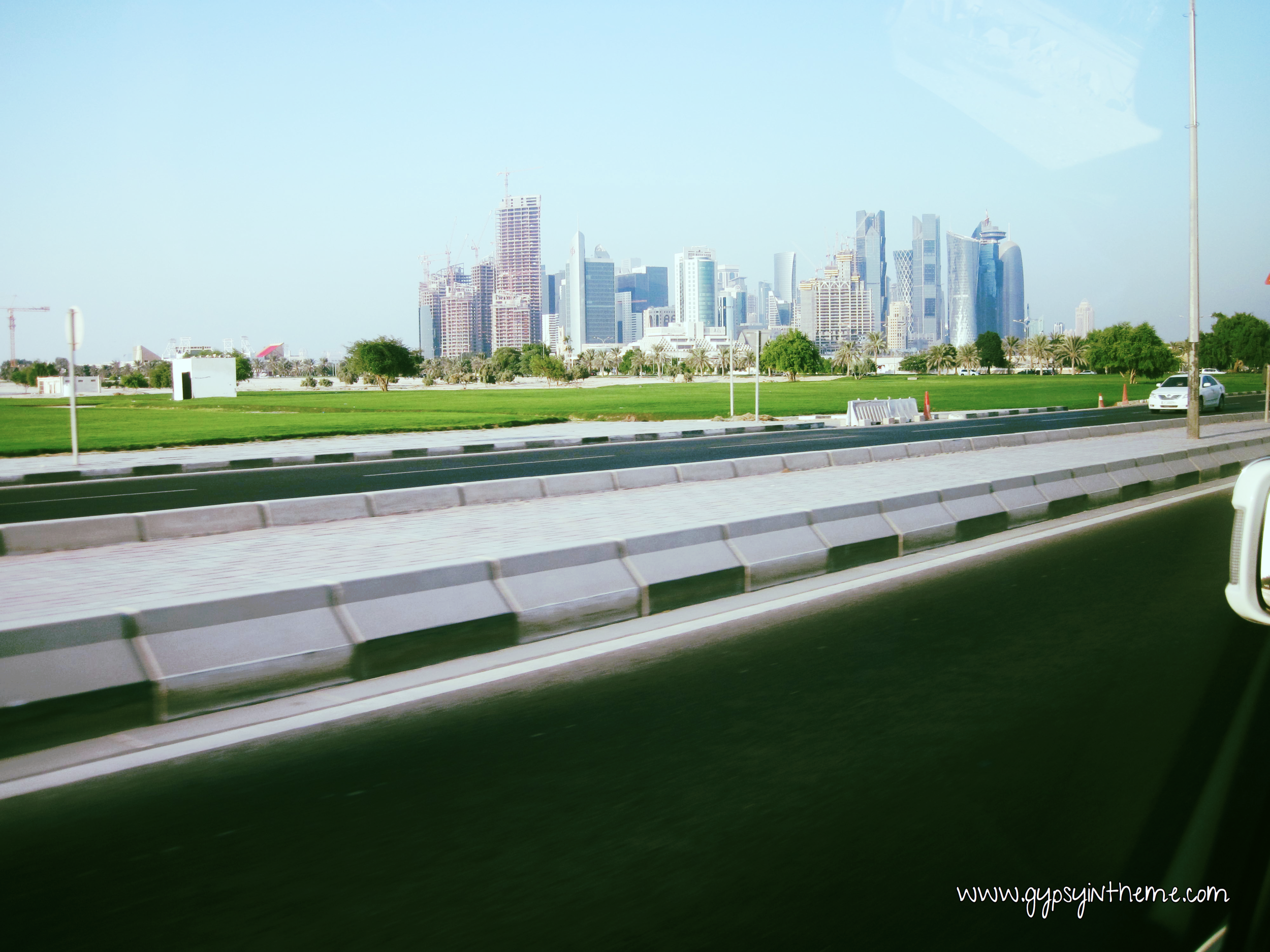 West Bay (downtown Doha - business/diplomatic core).