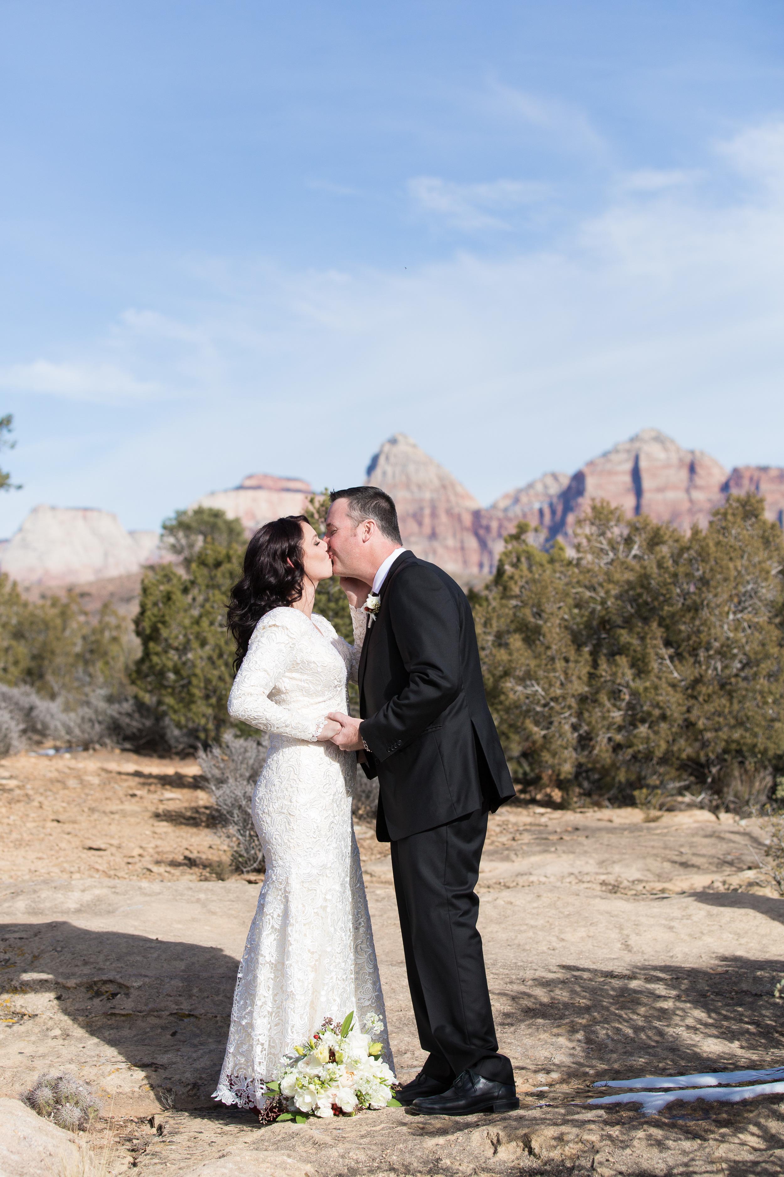 Zion National Park Wedding Utah