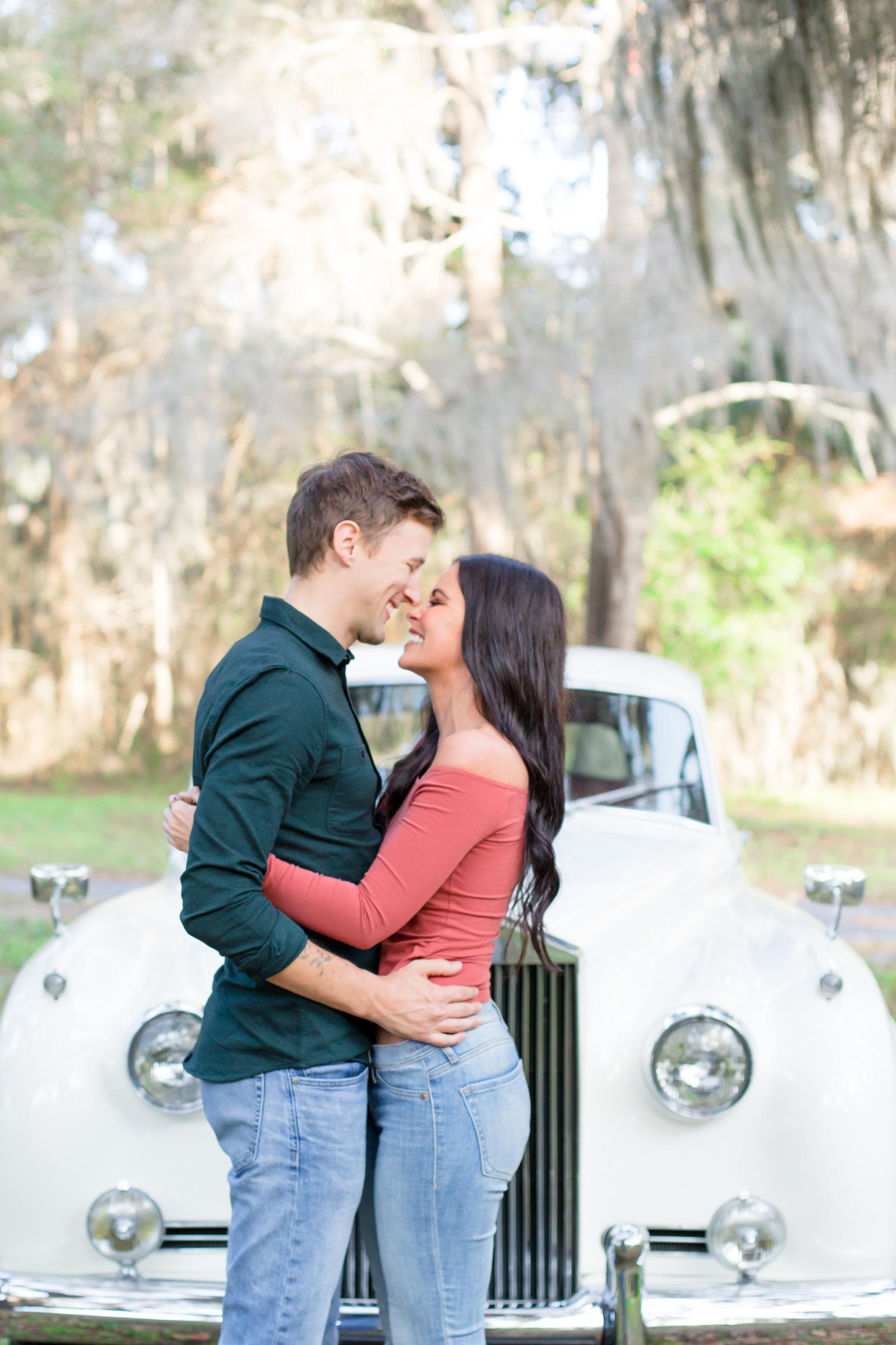 kailee-dimeglio-charleston-engagement-vintage-car