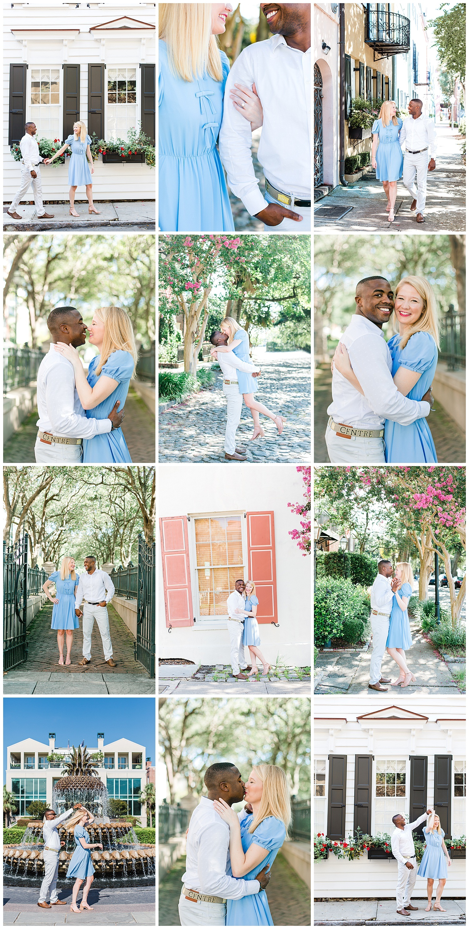 downtown-charleston-engagement-colorful-rainbow-row-pineapple-fountain-cobblestone-Kailee-DiMeglio-Photography.jpg