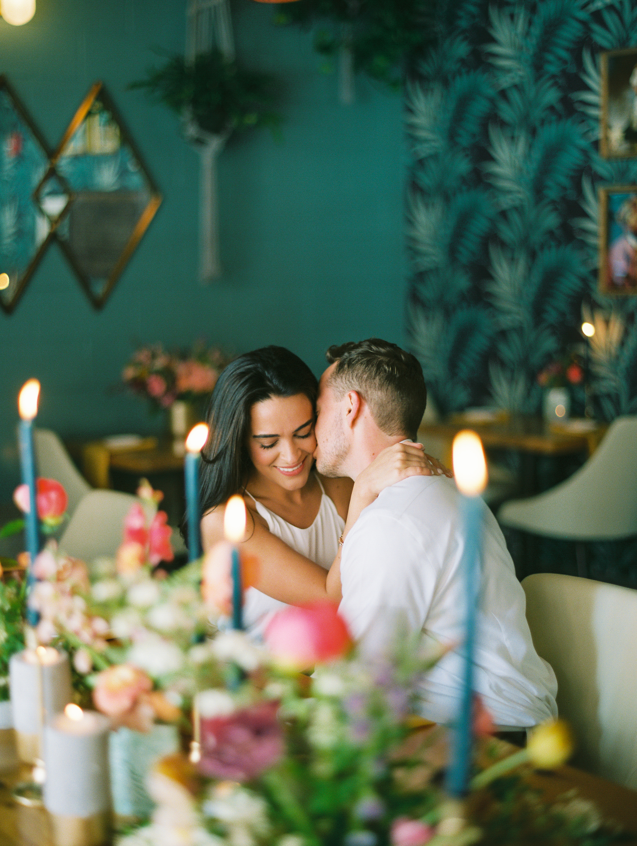 The Perfect Palette - A Colorful Philadelphia Engagement | Cam & Mark