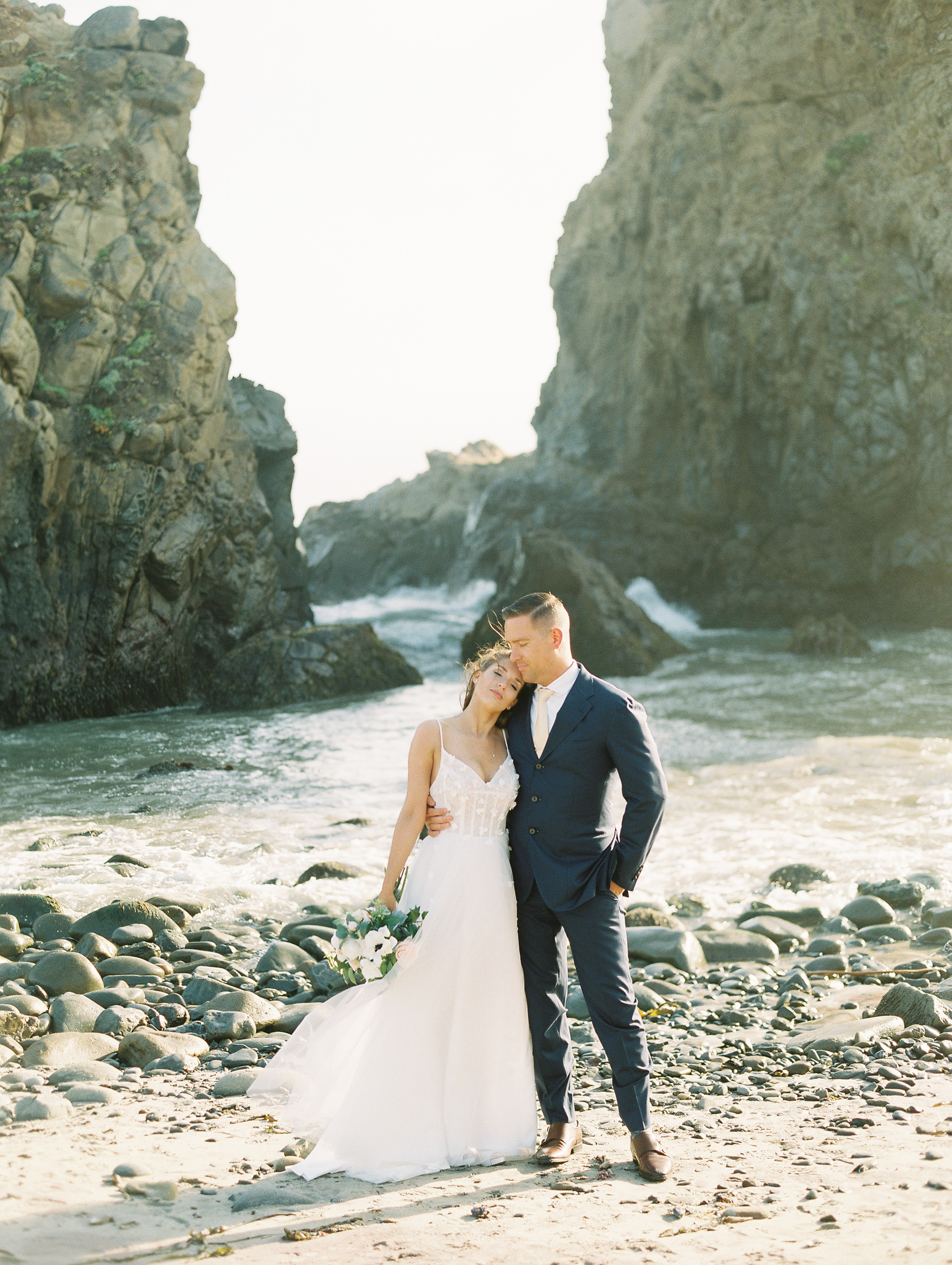 Engaged Life - A Big Sur Engagement Session | Timea & Dan