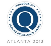 The Atlanta Service Excellence Award celebrates exemplary quality and superior customer service as measured by GuildQuality's customer satisfaction surveying. All award winners would be recommended by over 90% of their clients. Click above to see what our clients think.