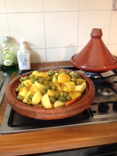 Scrumptious Moroccan meal prepared in Tagines!