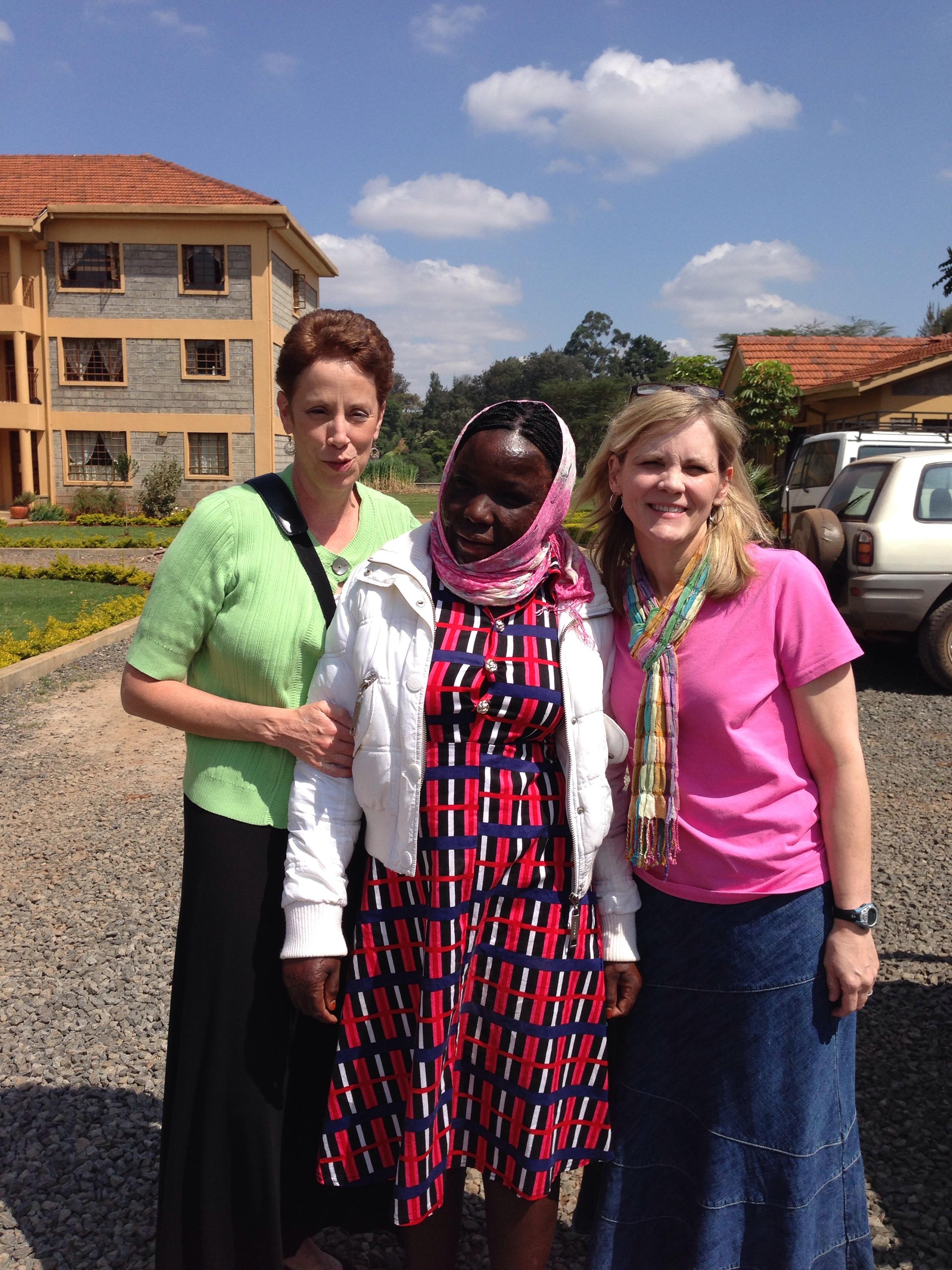 Our dear friend Agnes who we met 7 yrs ago.