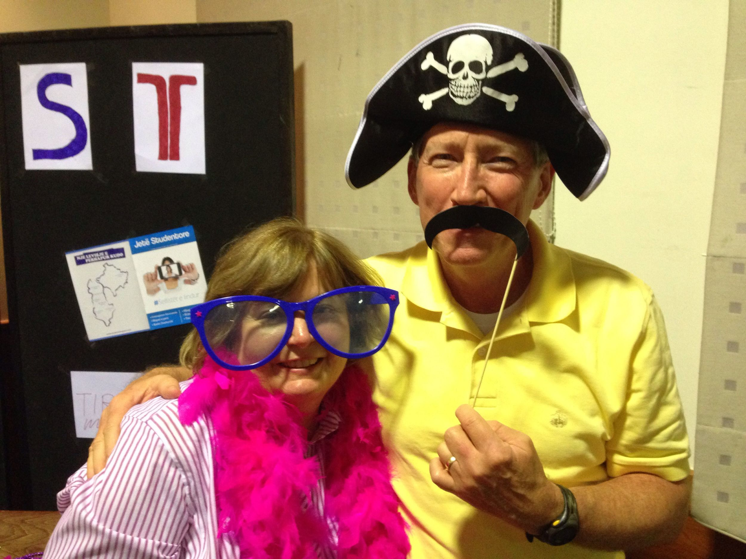 Even the team leaders had fun at the Photo Booth!