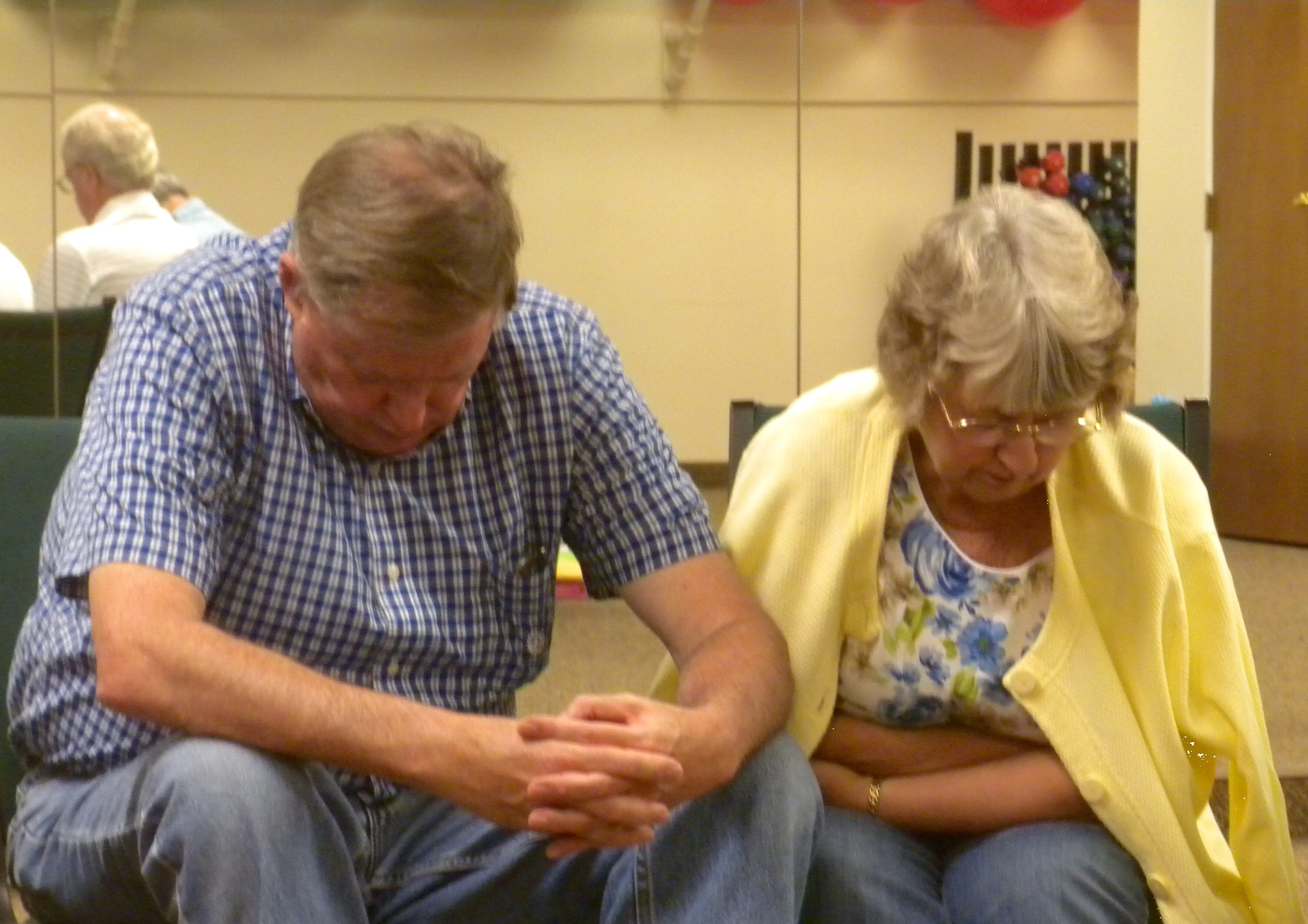 We spend time together in prayer during each of our trip meetings.