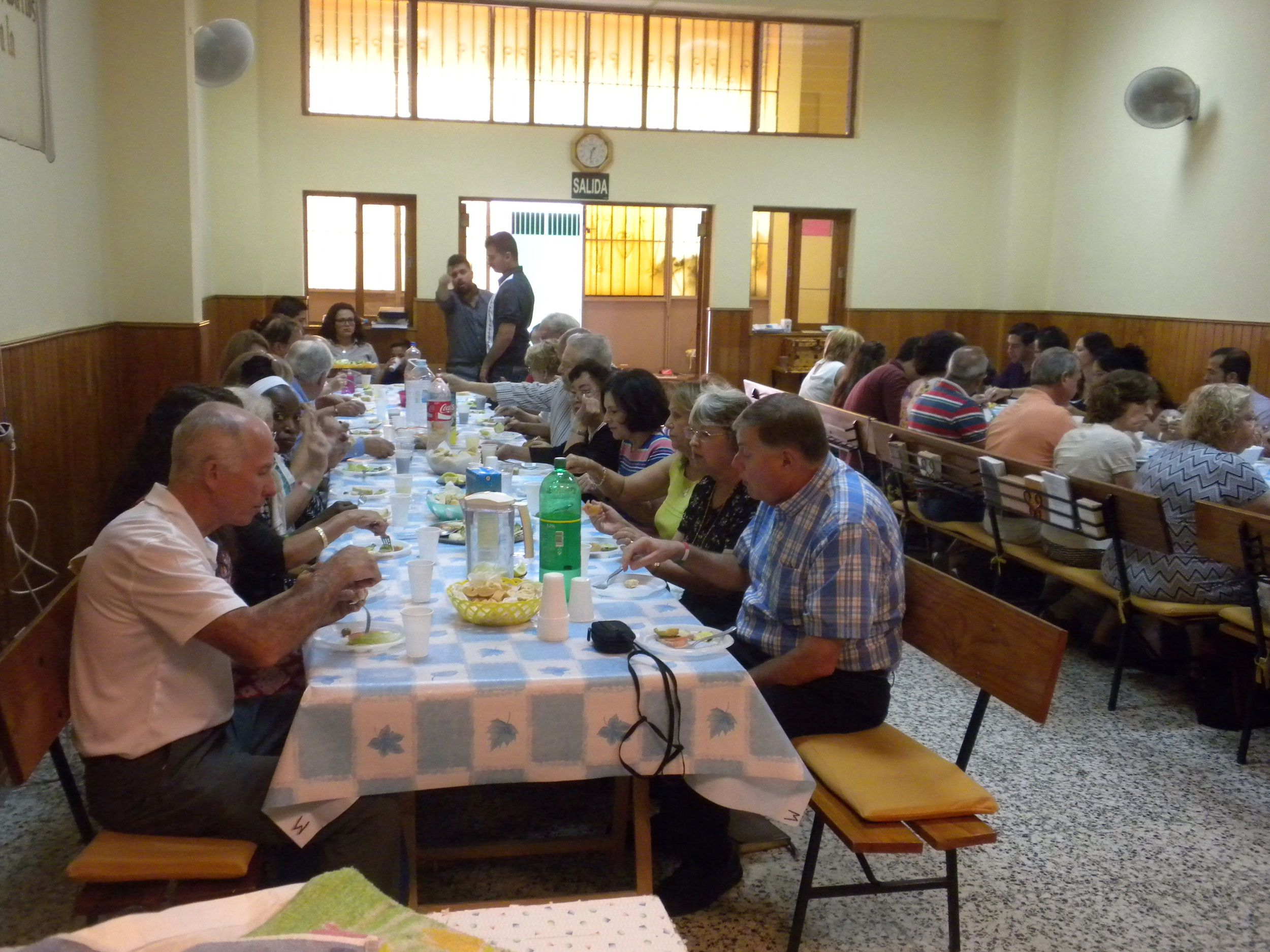 Lunch at the church