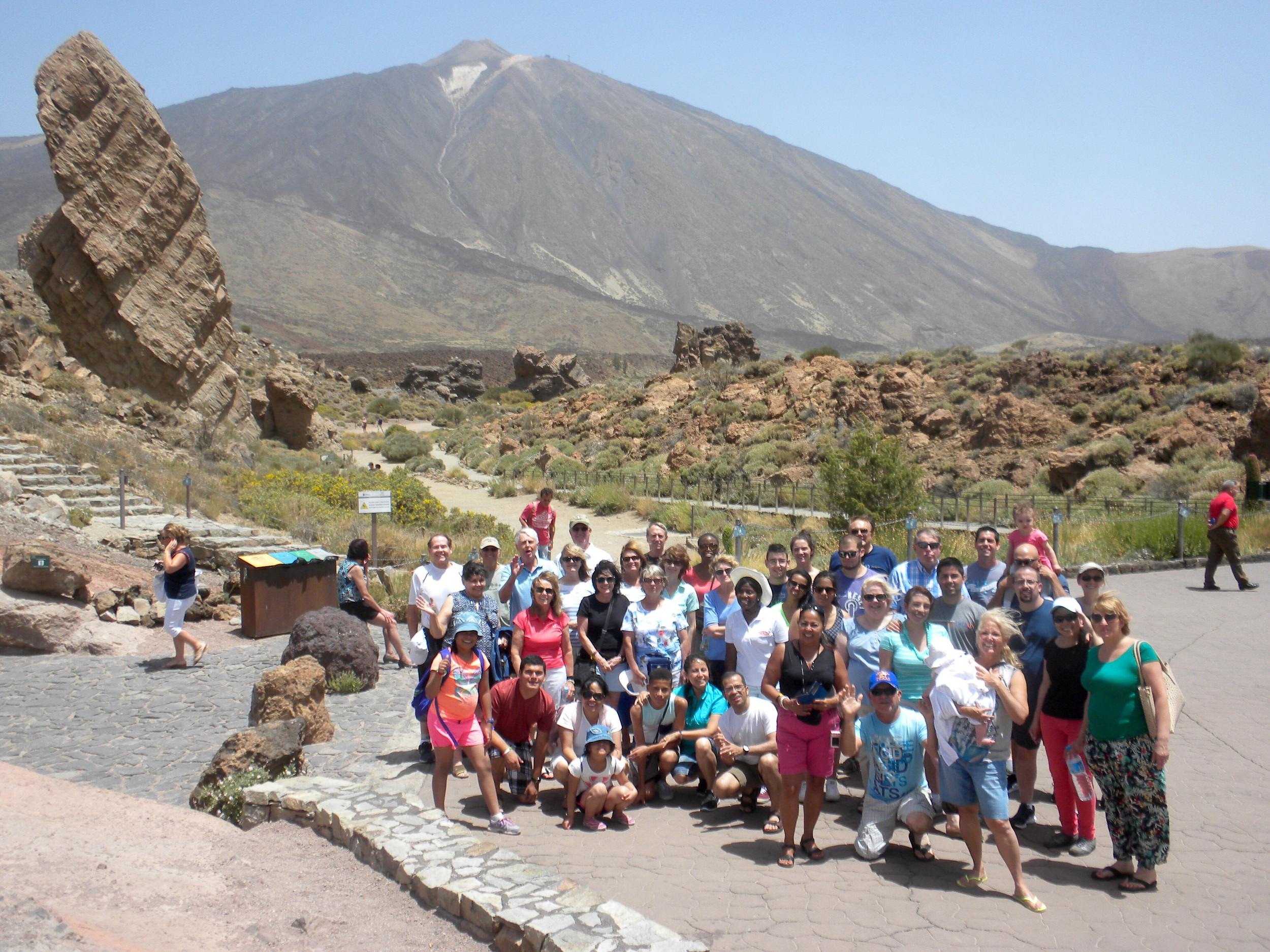 El Teide Volcano - highest peak in Spain