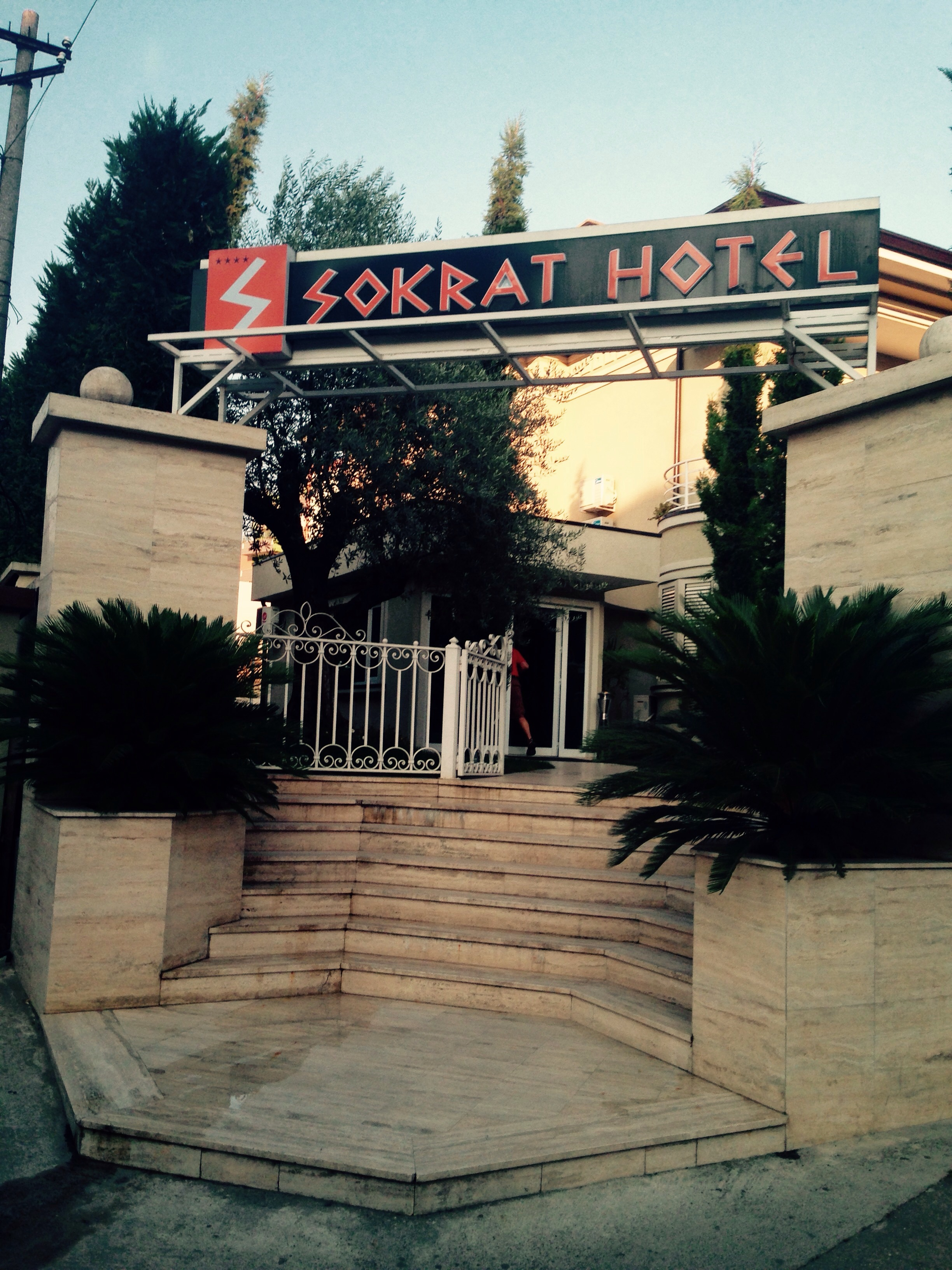 The hotel was very nice and right in the heart of Tirana.