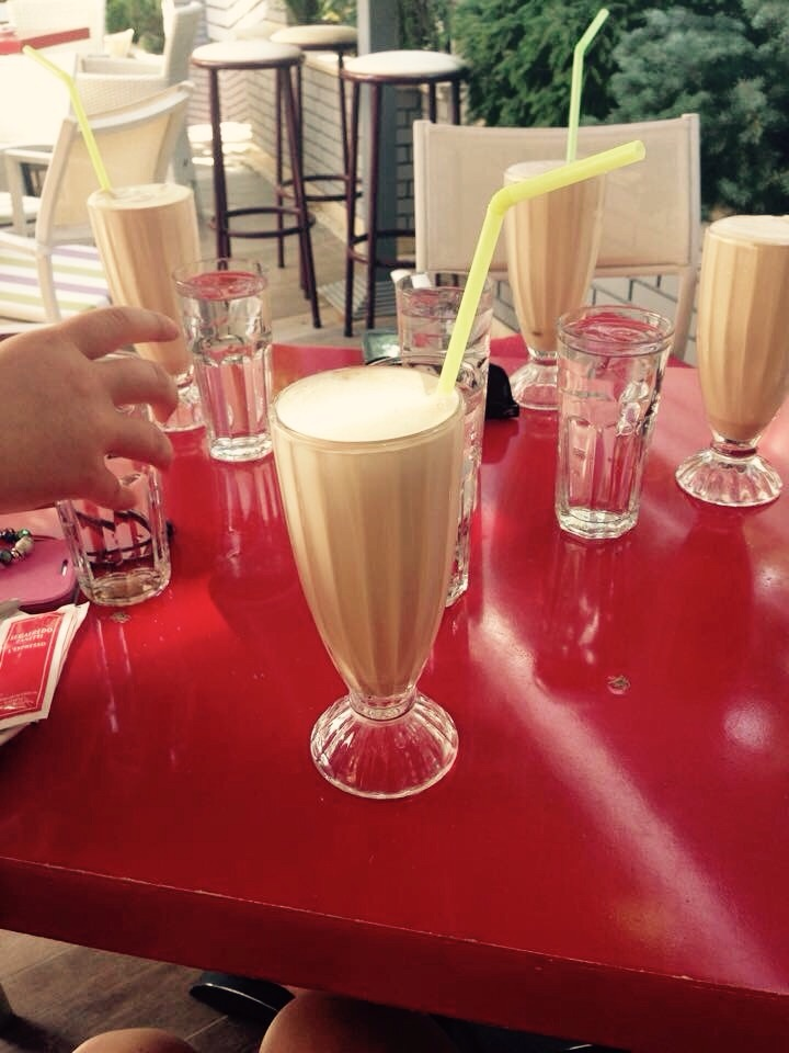 Iced cappuccinos...YUM!
