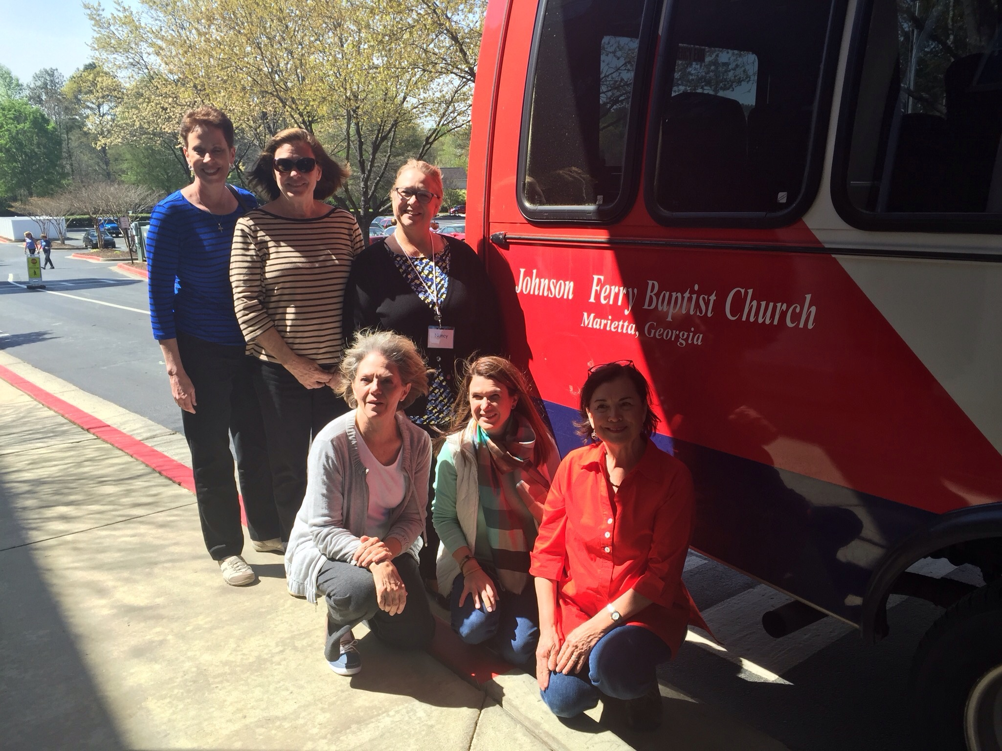 Team members: Debbie A., Debbie T., Nancy, Barbara, Ashlee, Claire