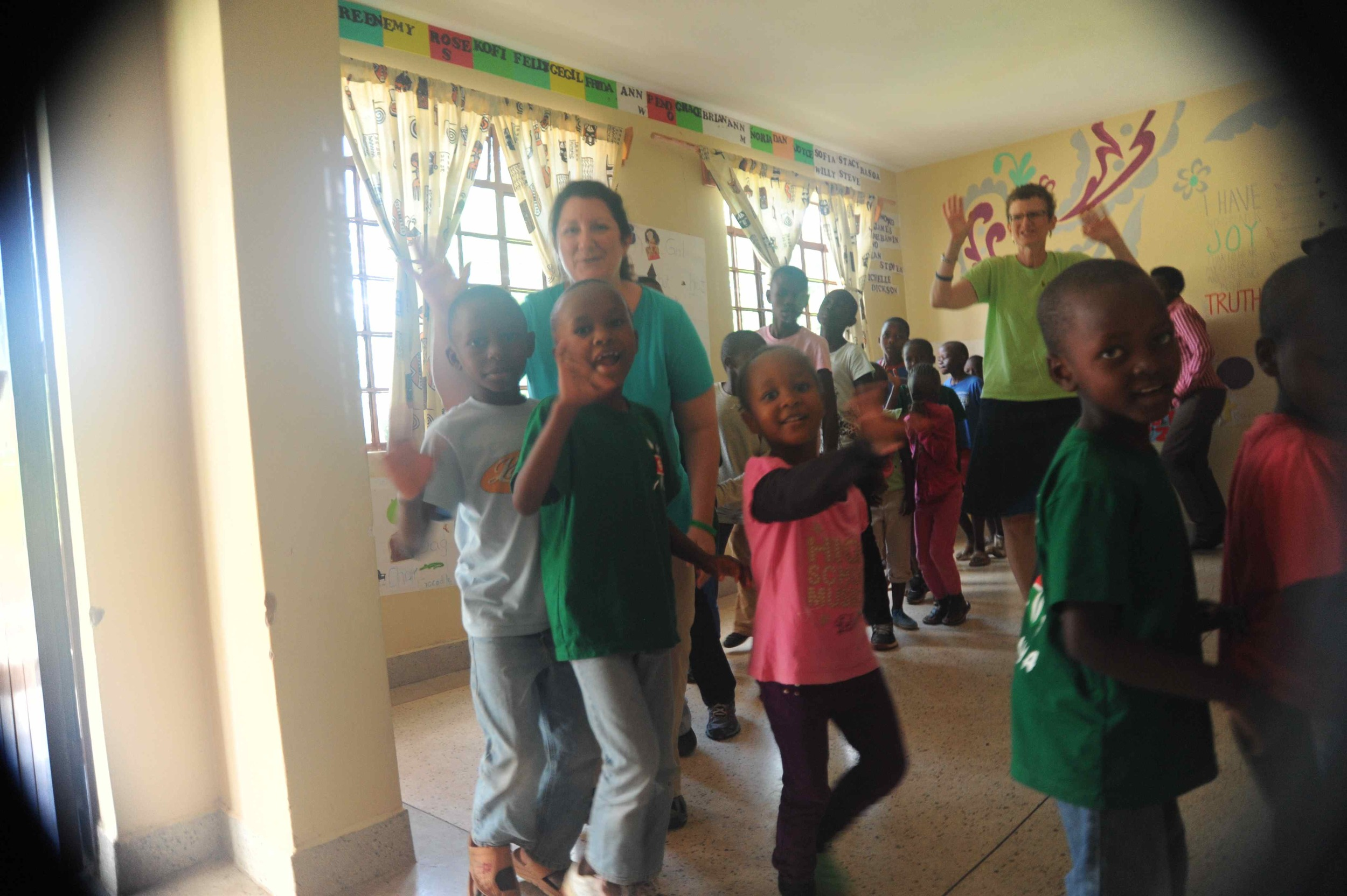 """We were treated to a """"show"""" by the students in the morning and then laughed, danced, and sang our way through the early afternoon."""