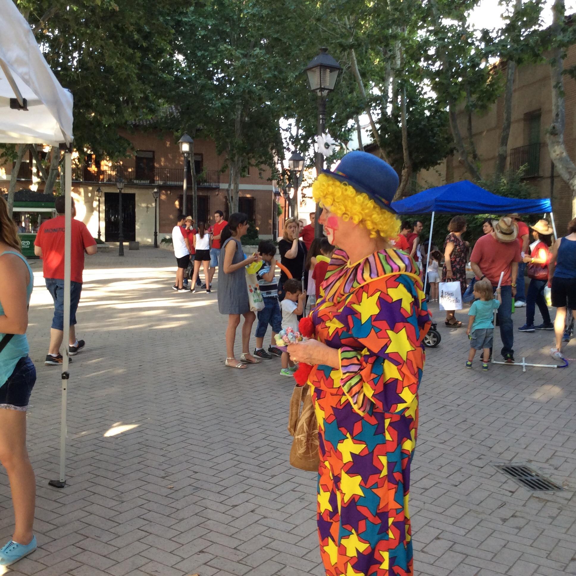 Send in the clowns (Marianne).