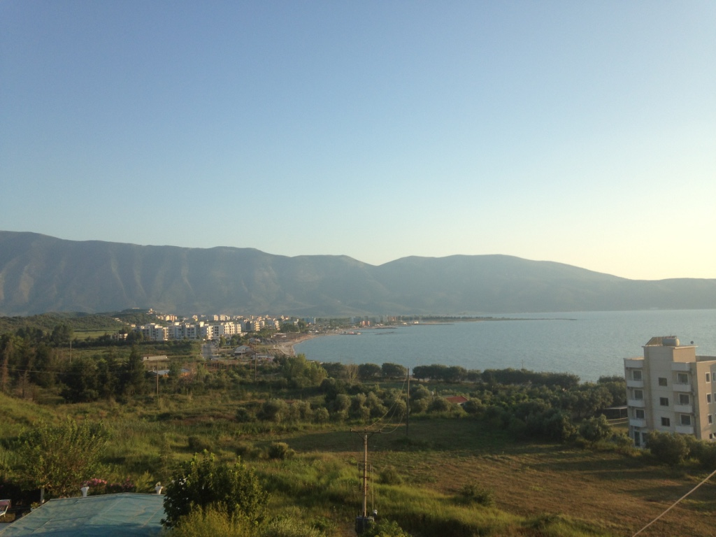 The Albanian Mountains and the Ionian Sea