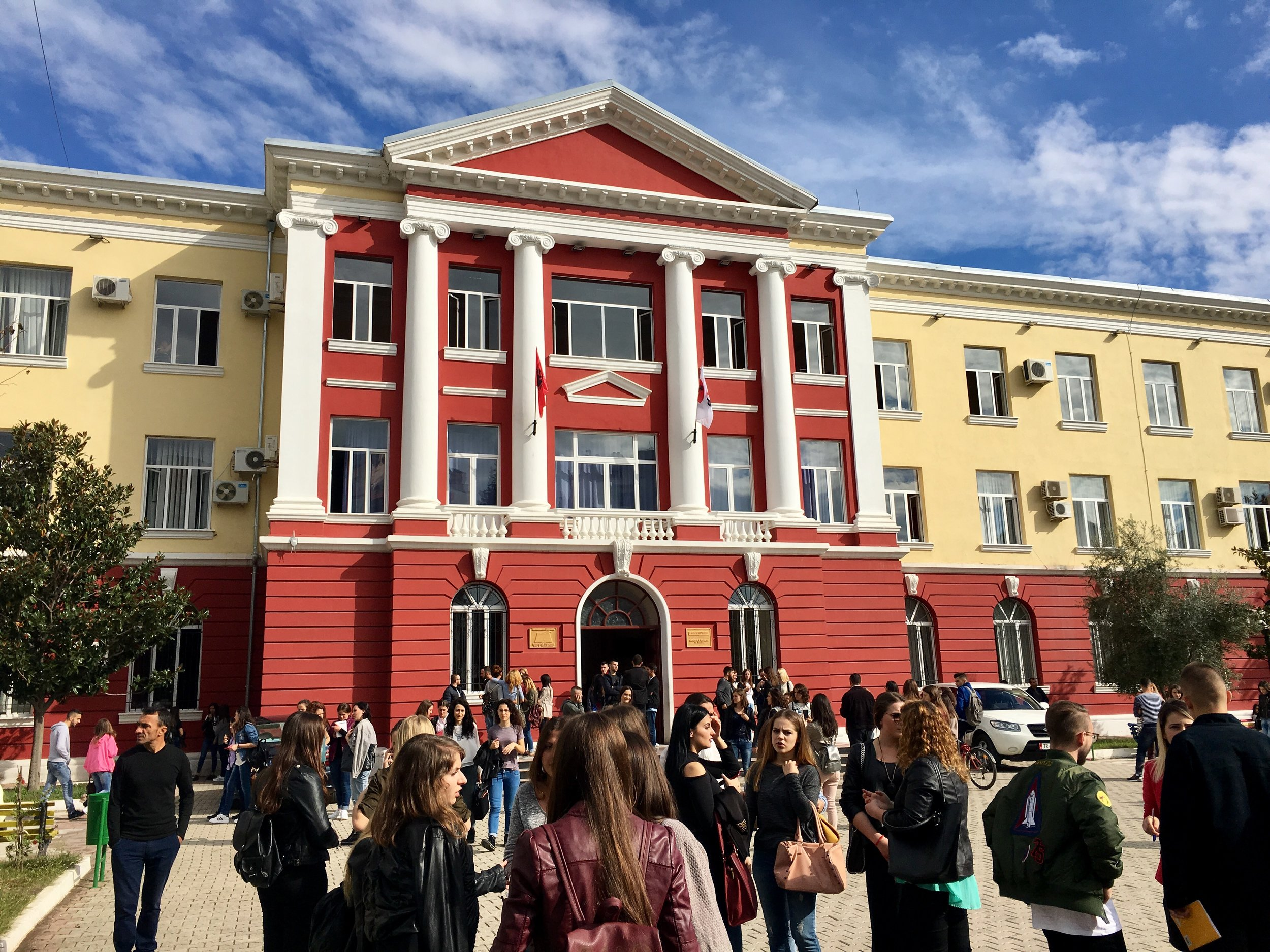 The Tirana University of Foreign Languages