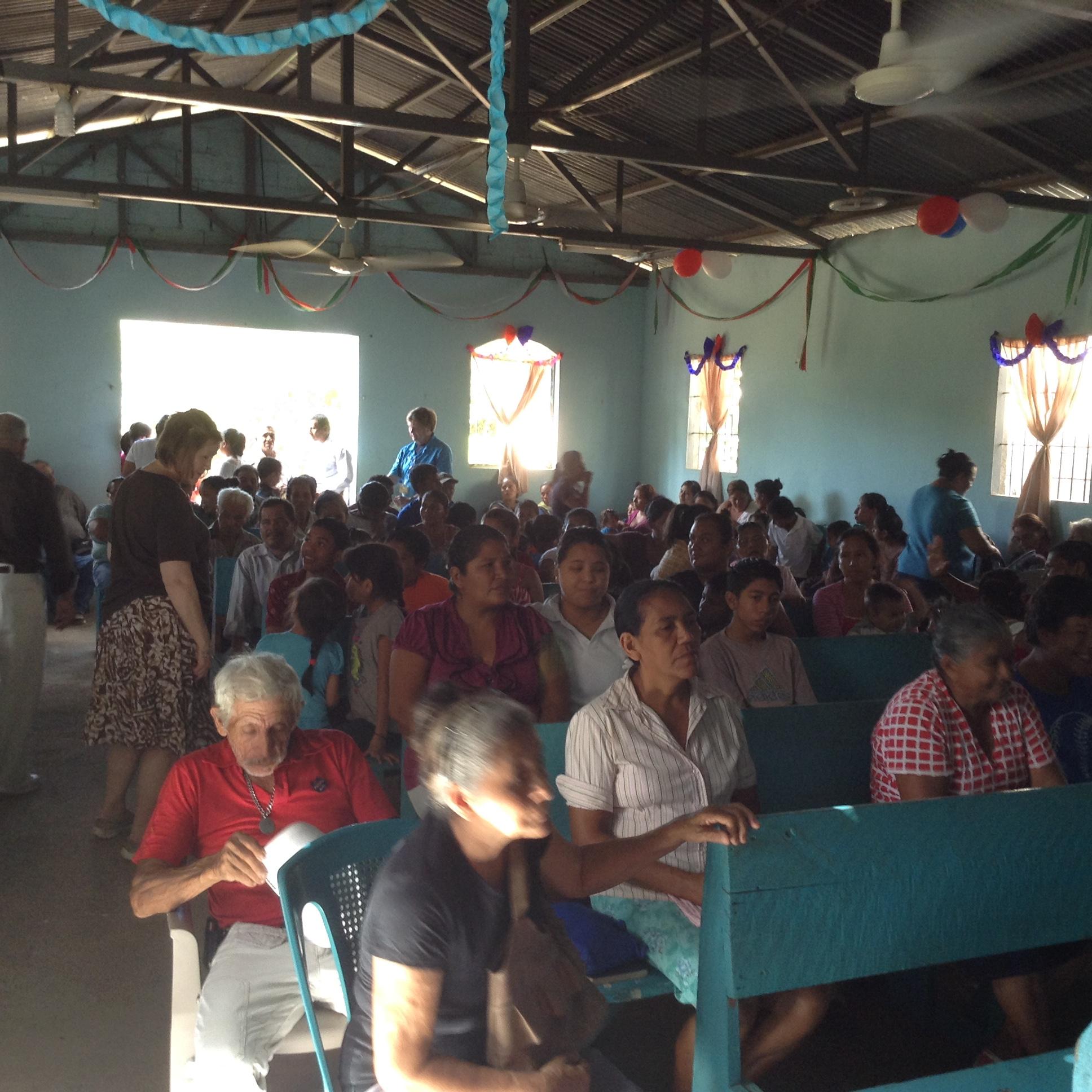 Church attendees