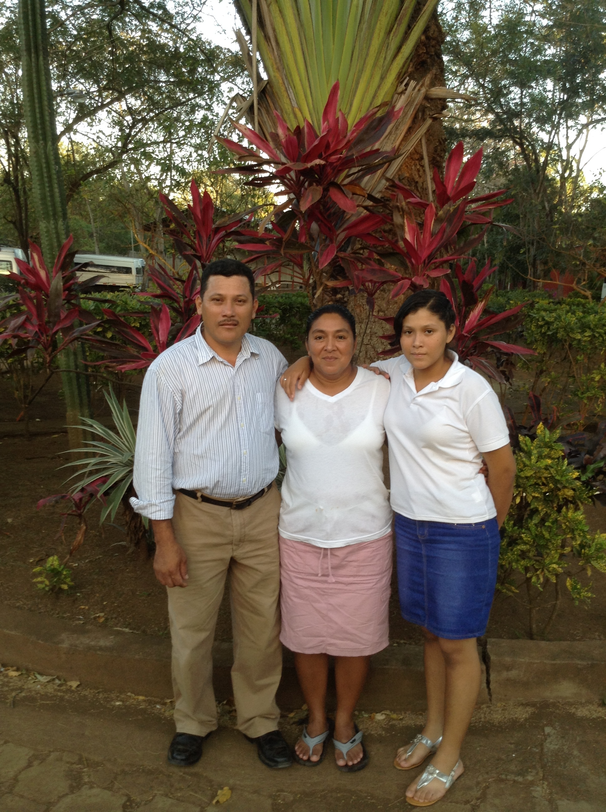 Church Pastor Luder and family