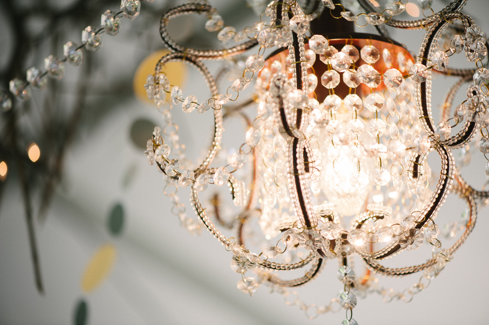CHANDELIERS - Chandeliers are a great way to add a touch of class or a vintage twist to your event. A couple chandeliers hanging from the ceiling can really transform your event. We carry many different types of chandeliers.