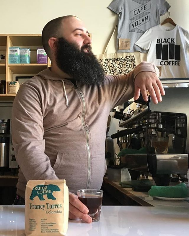 Sadly tomorrow, 08/27/19, is Randy's last day with us. He is taking his talents and knowledge and opening his own cafe. Follow @littlekeycoffee to see the progress. Come say goodbye tomorrow between 7am and 1pm. . . Thanks @randylevine for everything. You'll be missed by everyone. #cafevolan #onlyonbangs