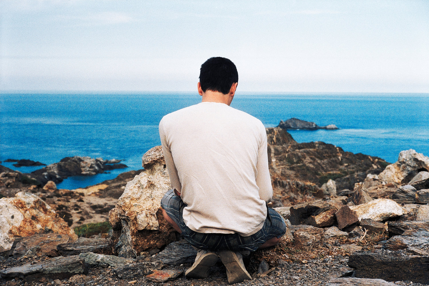 Adam and the Mediterranean Sea #1, Cap De Creus, 2009