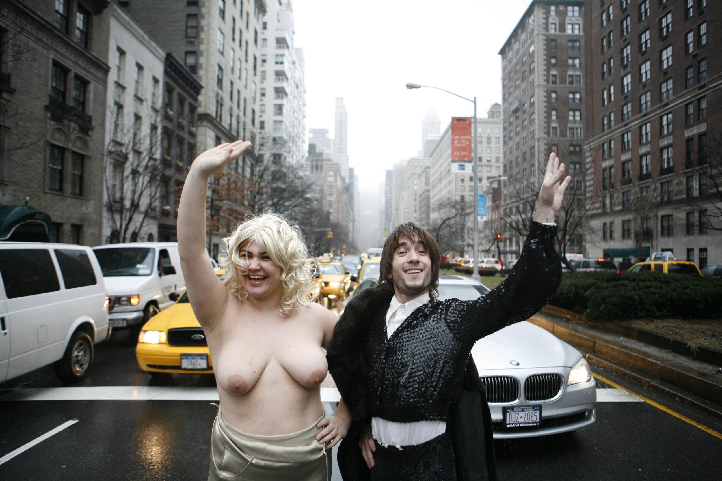Copy of Marlène Saldana and Jonathan Drillet, NYC, 2008