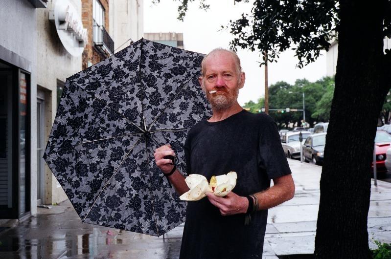 Copy of Man With Magnolia, Austin, 2009