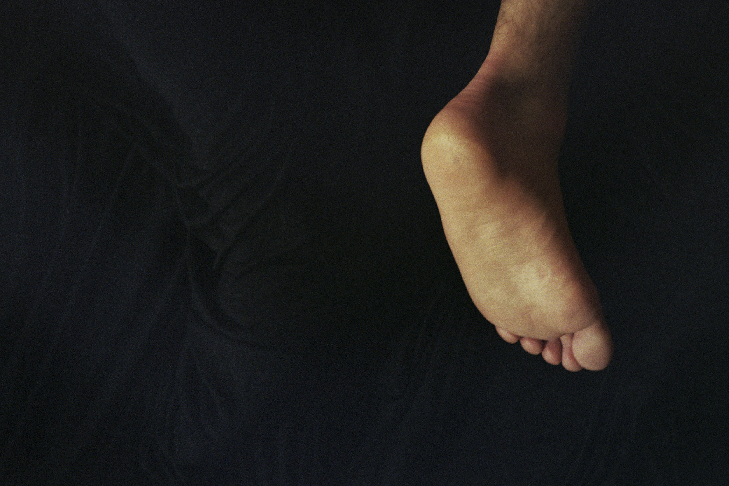 Gio's Foot, Brooklyn, 2013