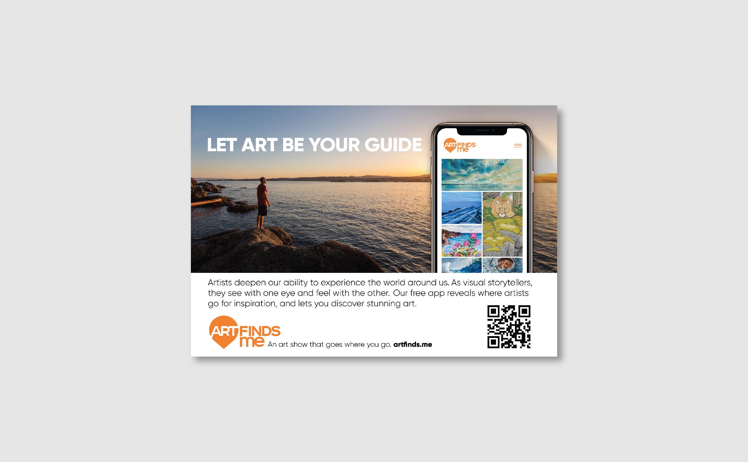 Island Vistor Print Ad