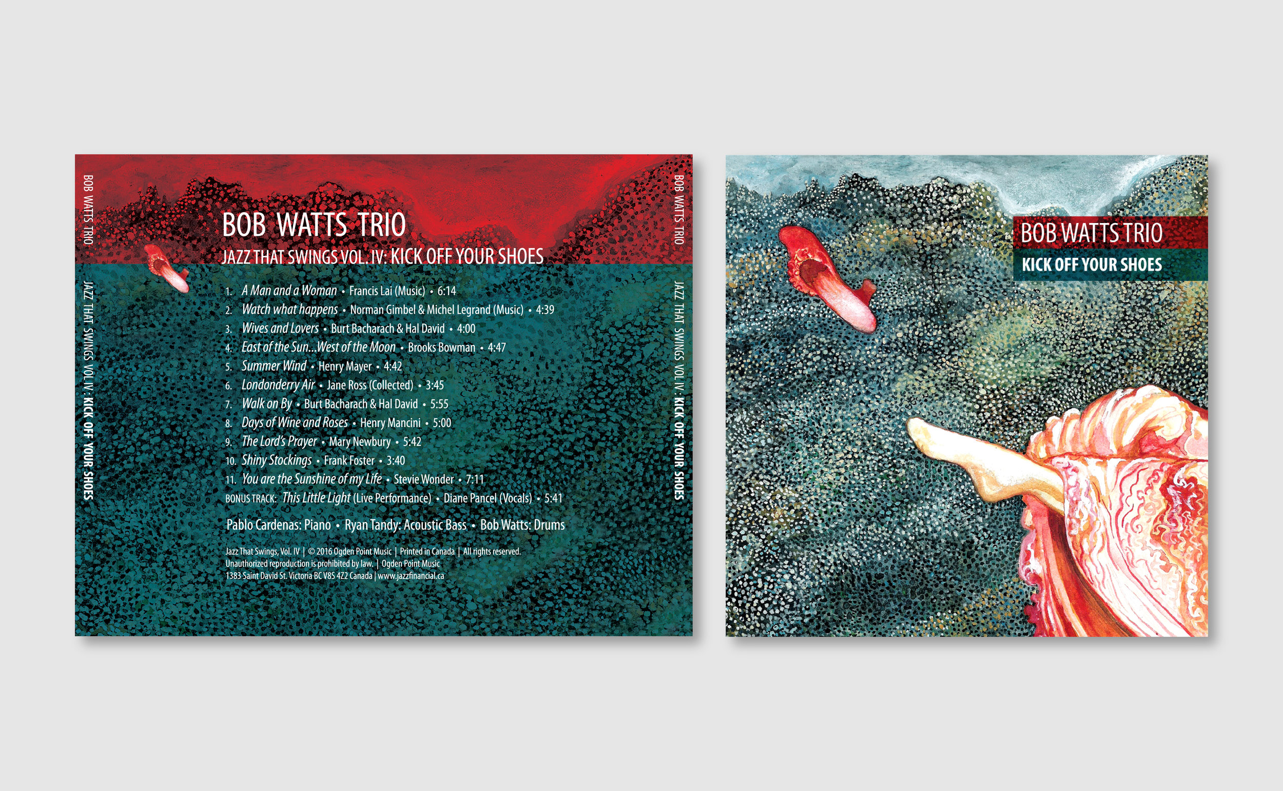 CD Cover and Back Cover