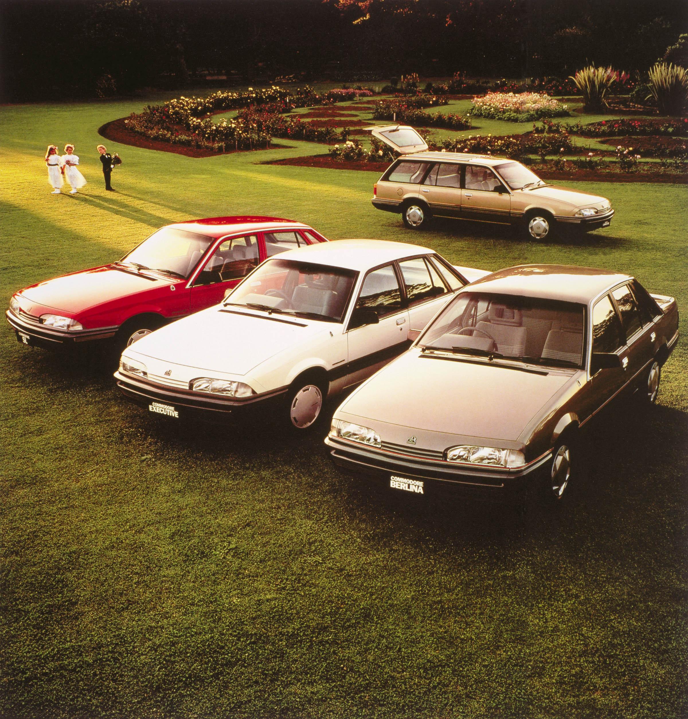VL Holden Commodore (1986-1988)