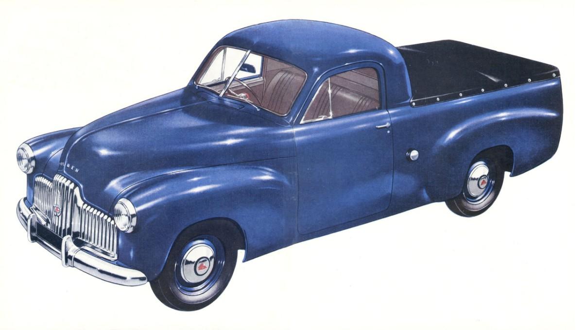 """48-215 """"FX"""" Holden (1951-1953)"""