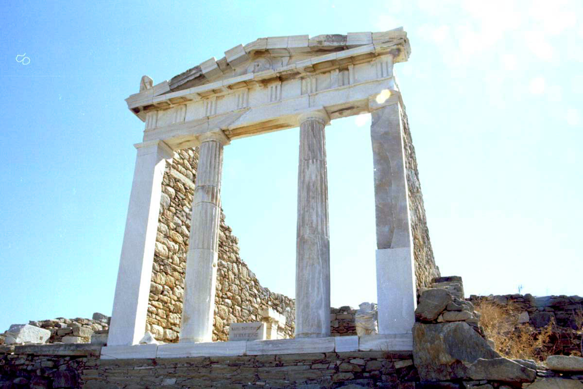 Temple at Delos