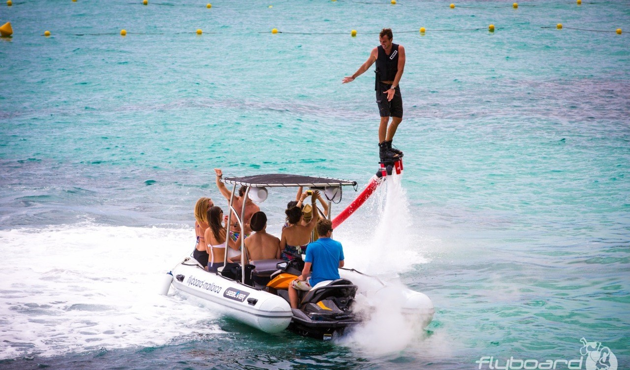 Flyboard @ Mallorca Water Sport Center