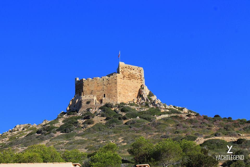 Castle at Cabrera