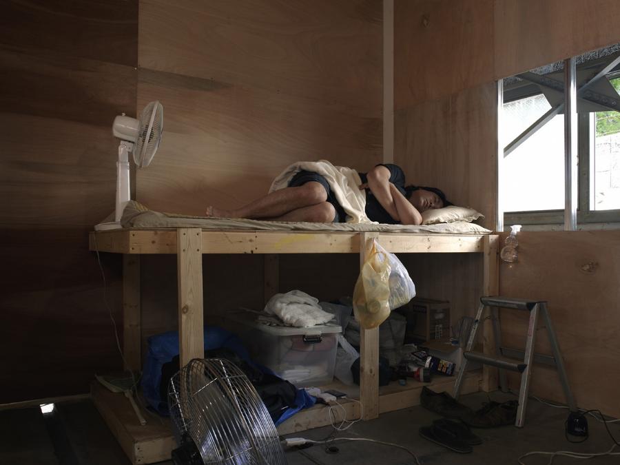 """Artist Refugee"",The 1st Tokorozawa Biennial of Contemporary Art, Japan,2009 Photo: Tadasu Yamamoto"