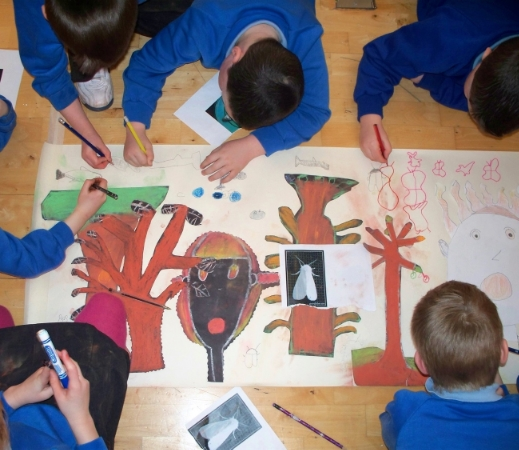 Exhibition Workshop: Poetry and Drawing