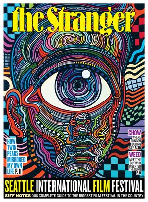 """""""Cyclopulus"""" cover design of May 17 - 23 2017 Edition of  The Stranger"""