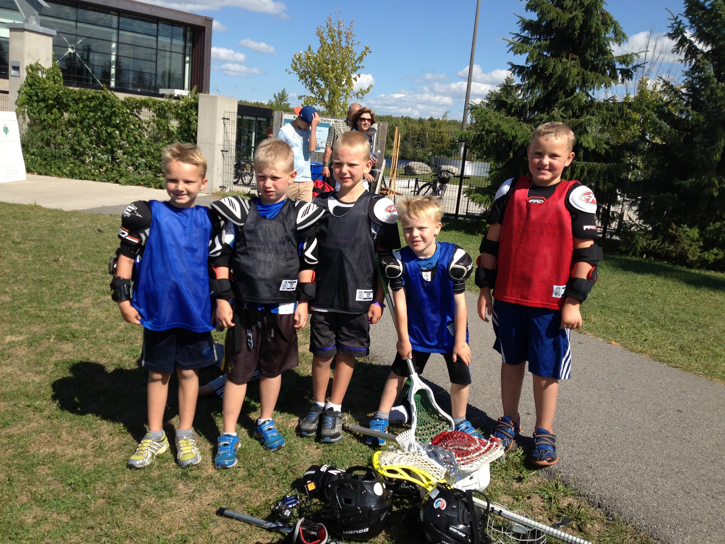 Happy campers at Nationwide Lacrosse