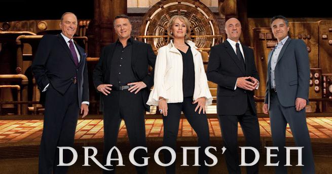 photo via CBC Dragons' Den website