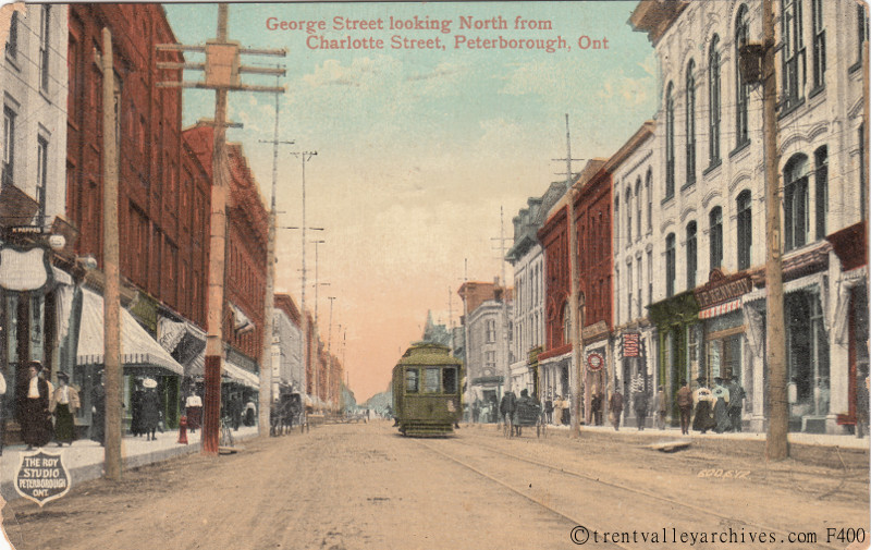 George St at Charlotte St looking north 02a streetcar.jpg